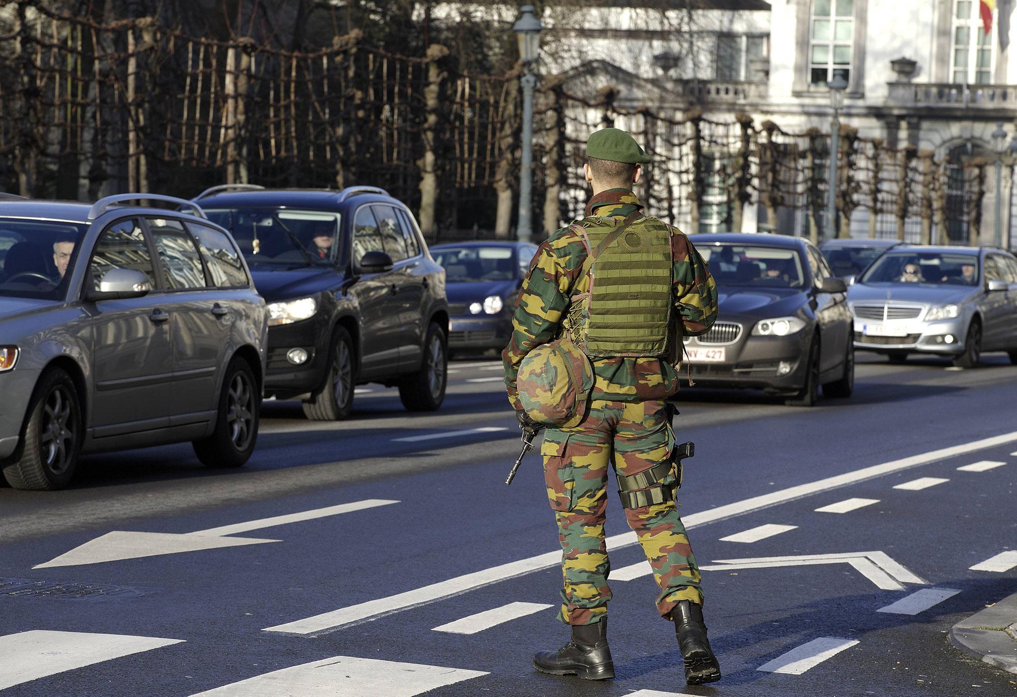 Vigilance accrue dans notre pays à la suite des attaques terroristes récentes en Europe
