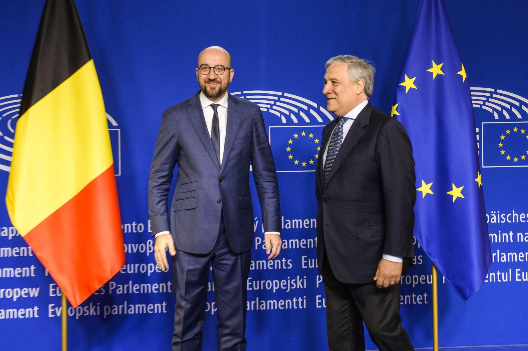 Europe : Discours du Premier ministre de Belgique, Charles Michel, au parlement européen