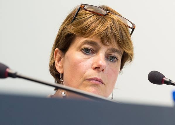 La Ministre Valérie DE BUE en visite au Logis Tournaisien