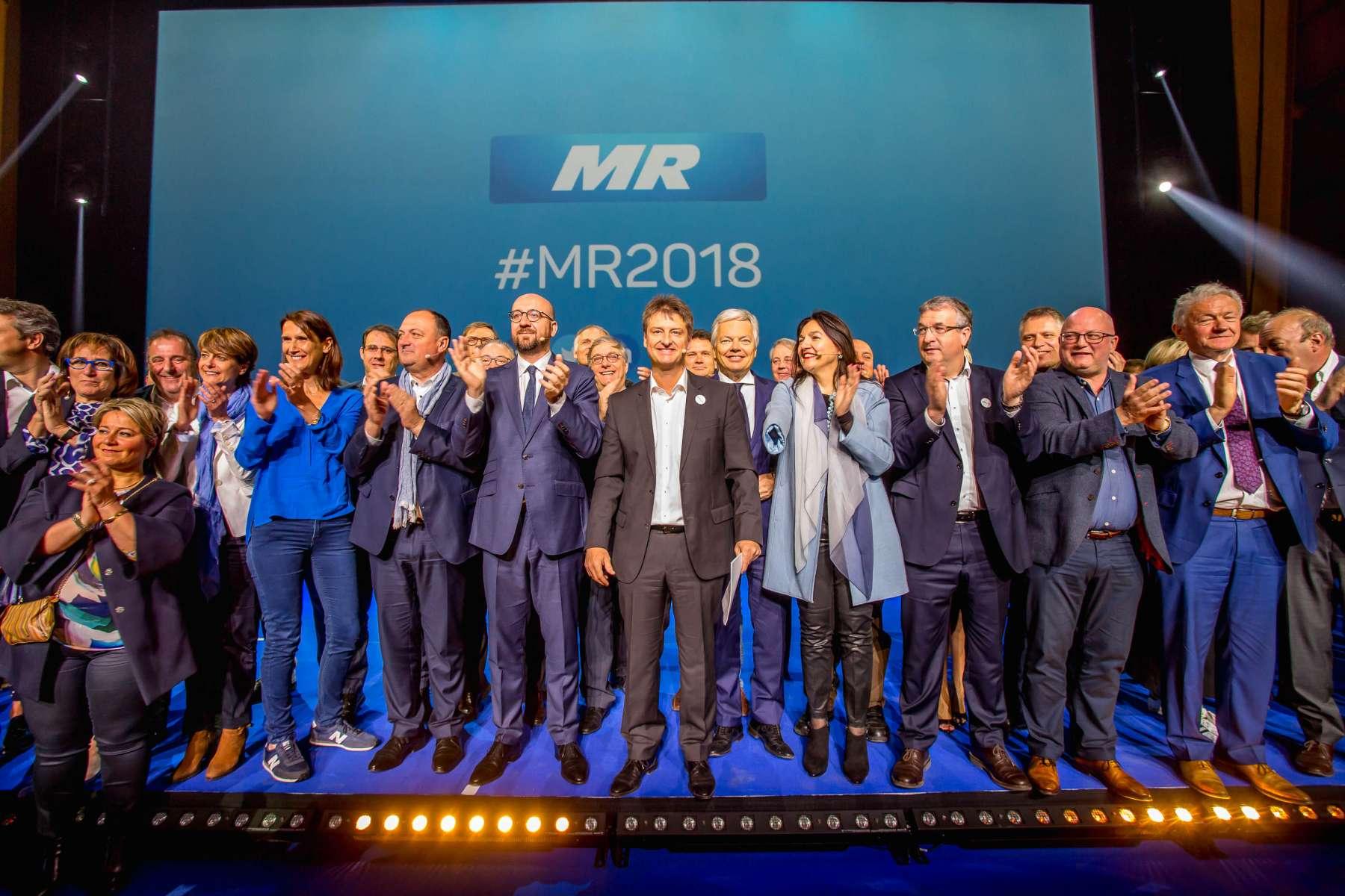 1er mai 2018 : Discours du Président du MR, Olivier Chastel