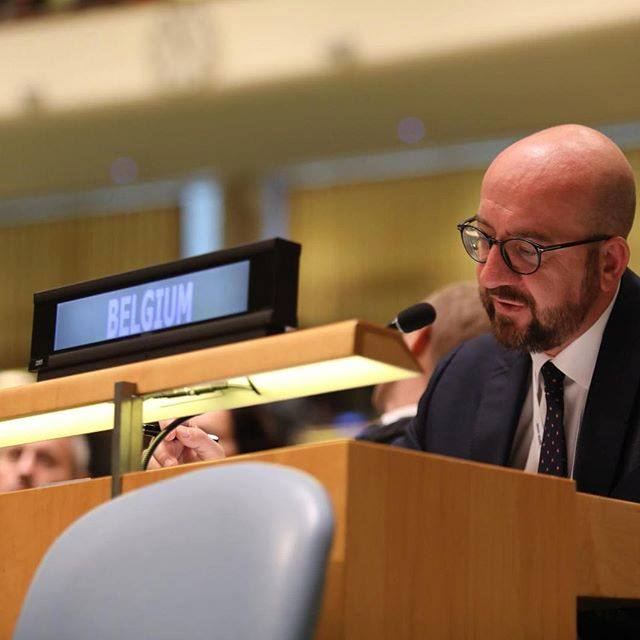 Discours prononcé par Charles Michel aux Nations Unies à New-york