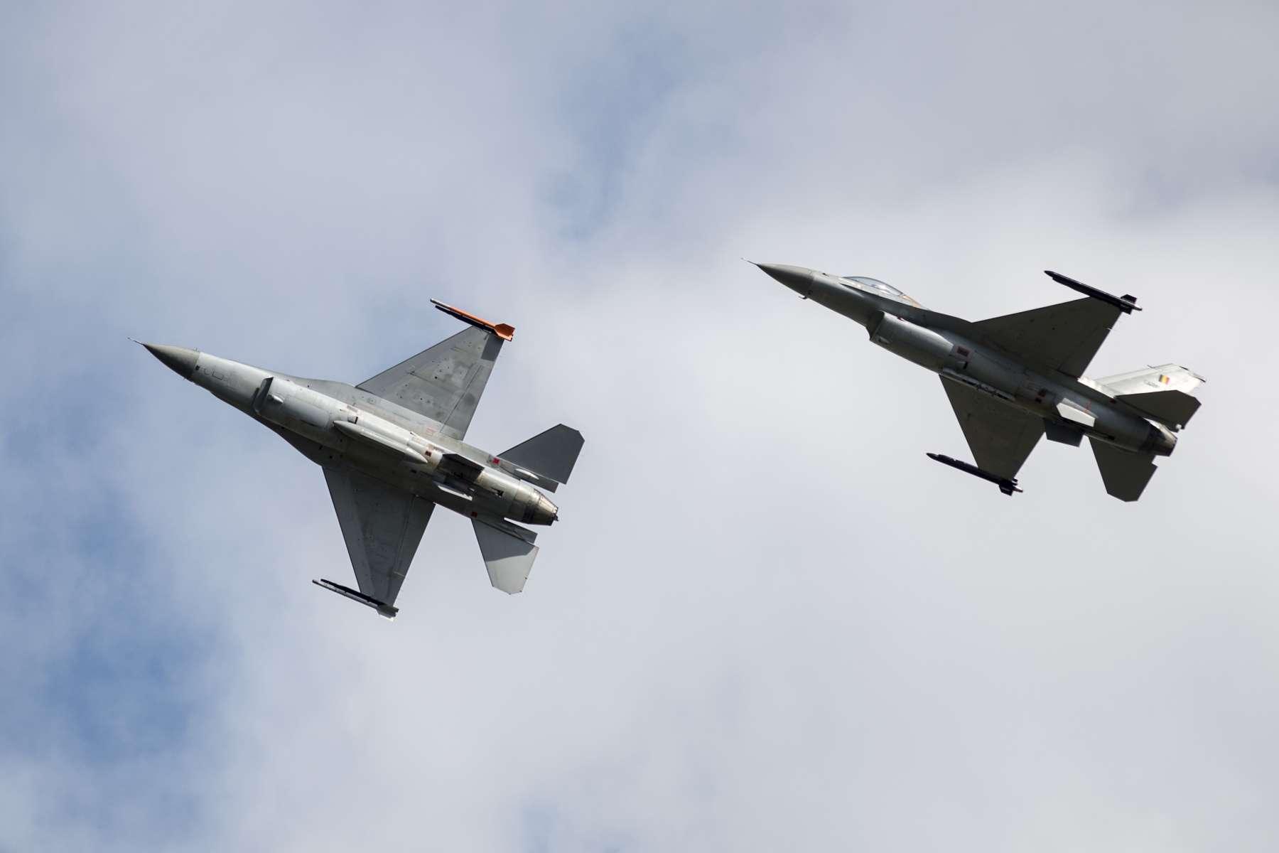 Remplacement des F-16 : le gouvernement fera le meilleur choix