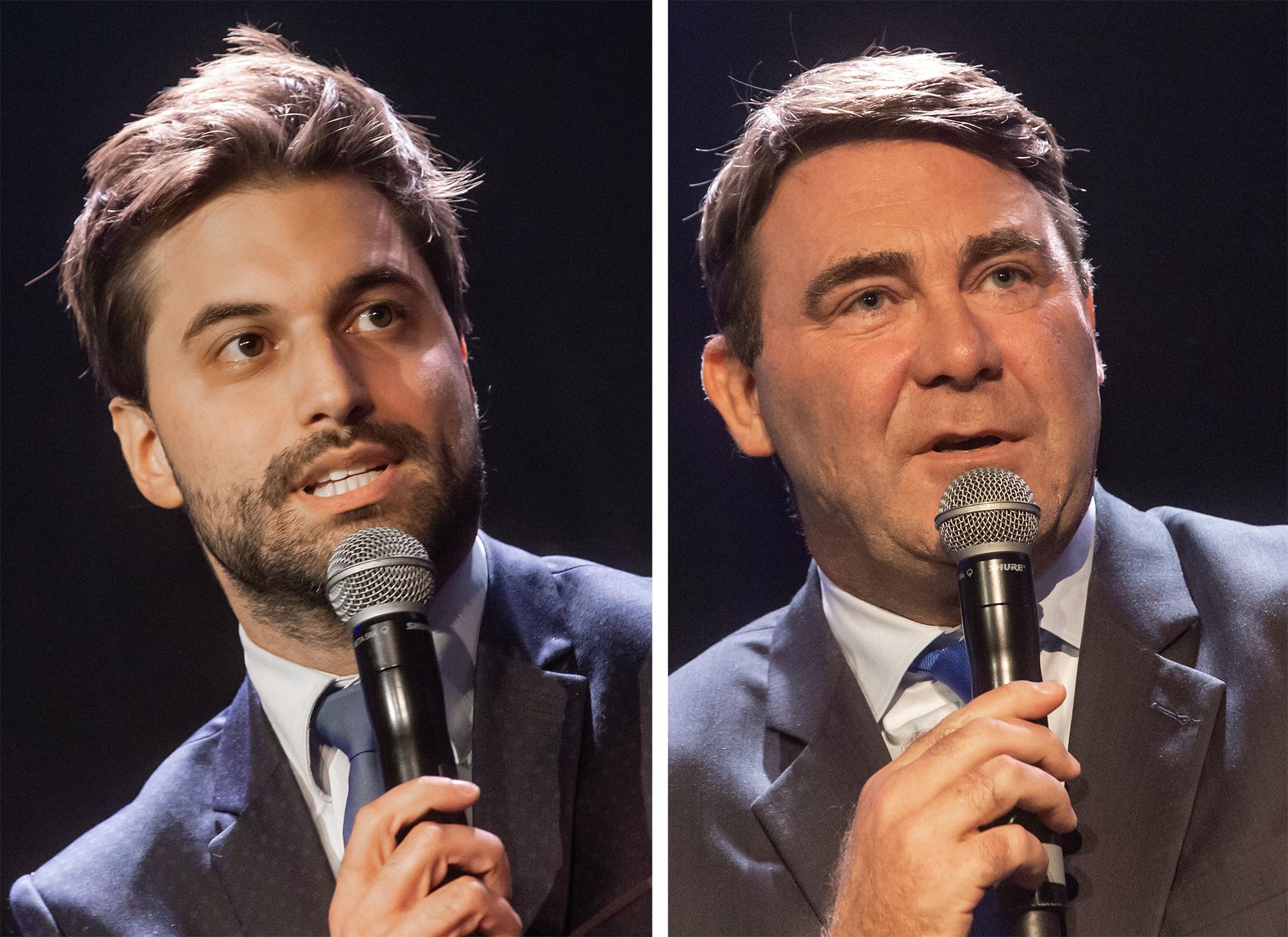 Election présidentielle au MR – Georges-Louis Bouchez et Denis Ducarme au second tour