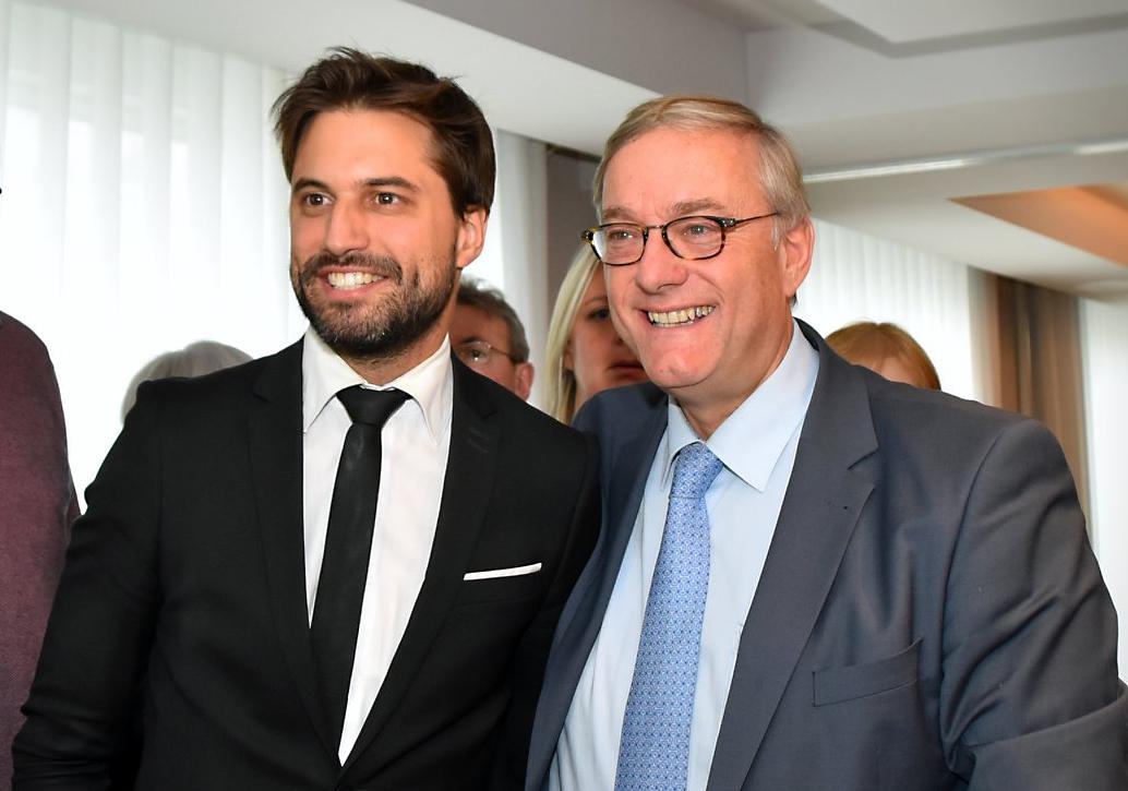 Vincent De Wolf désigné président de l'intergroupe parlementaire