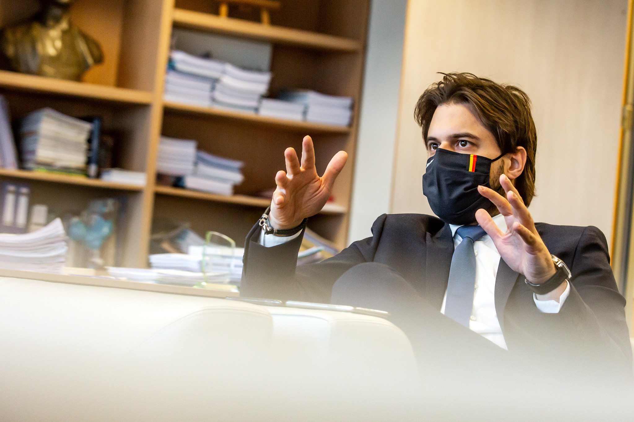 Interview van de MR-voorzitter in Het Nieuwsblad