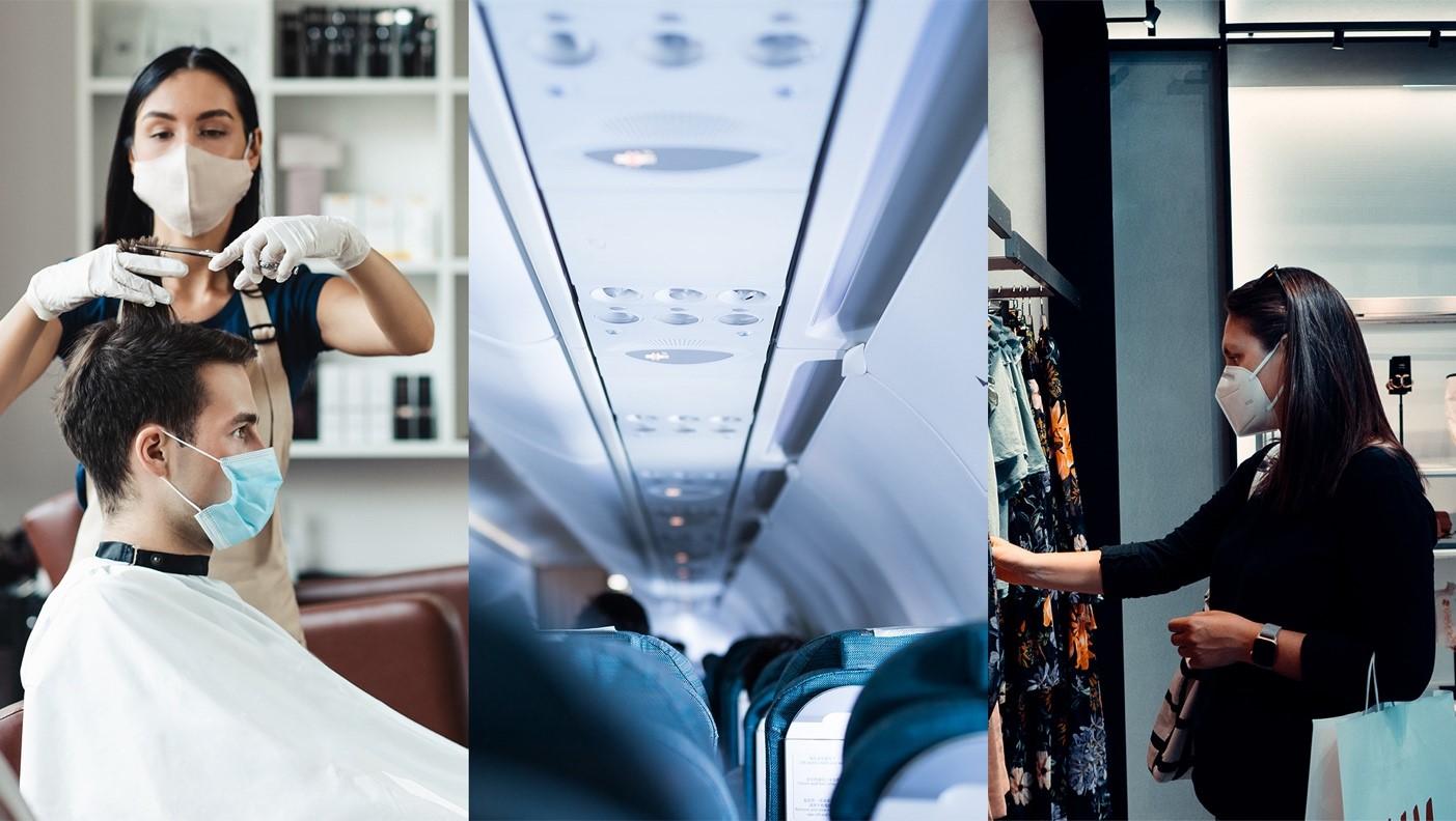 Comité de concertation : Interdiction des voyages non-essentiels à l'étranger et réouverture pour les métiers de contact