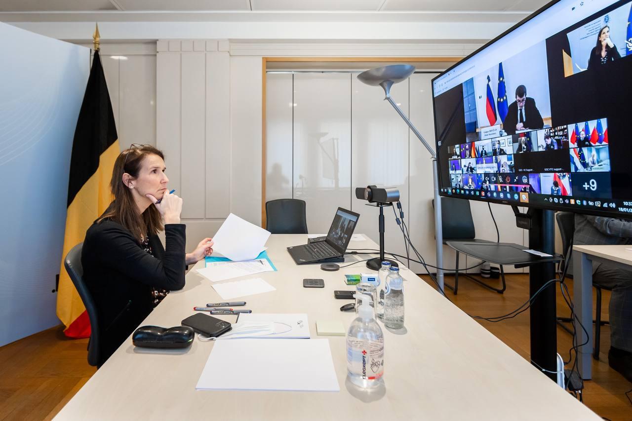 Conseil des ministres des Affaires européennes : Face aux variants du COVID-19, la Belgique en appelle à une approche coordonnée, notamment pour la gestion des frontières