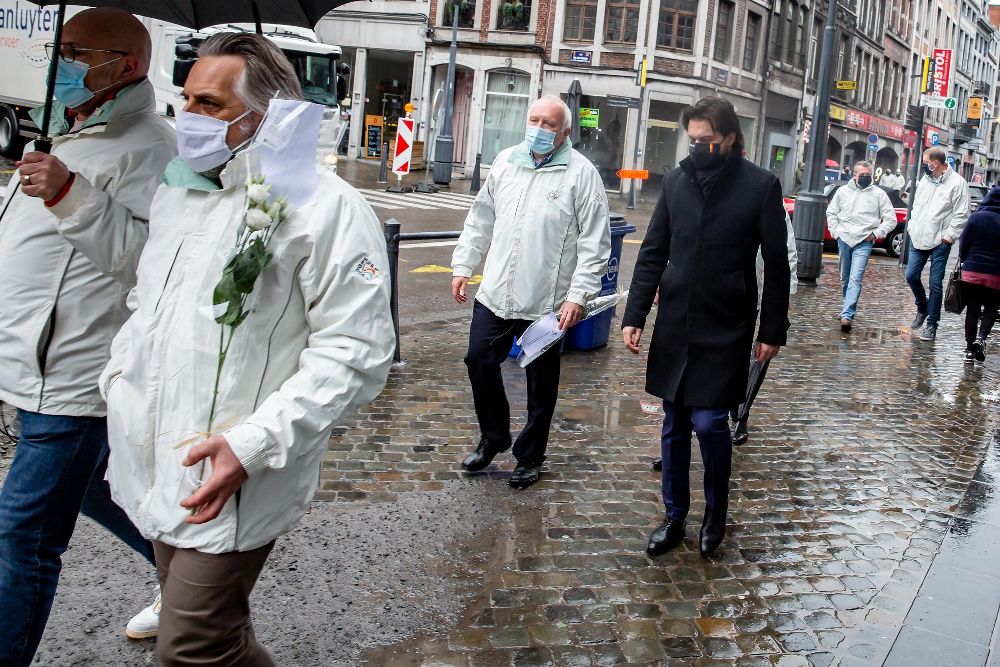 Le MR soutient l'action contre les violences envers les policiers et commerçants à Liège