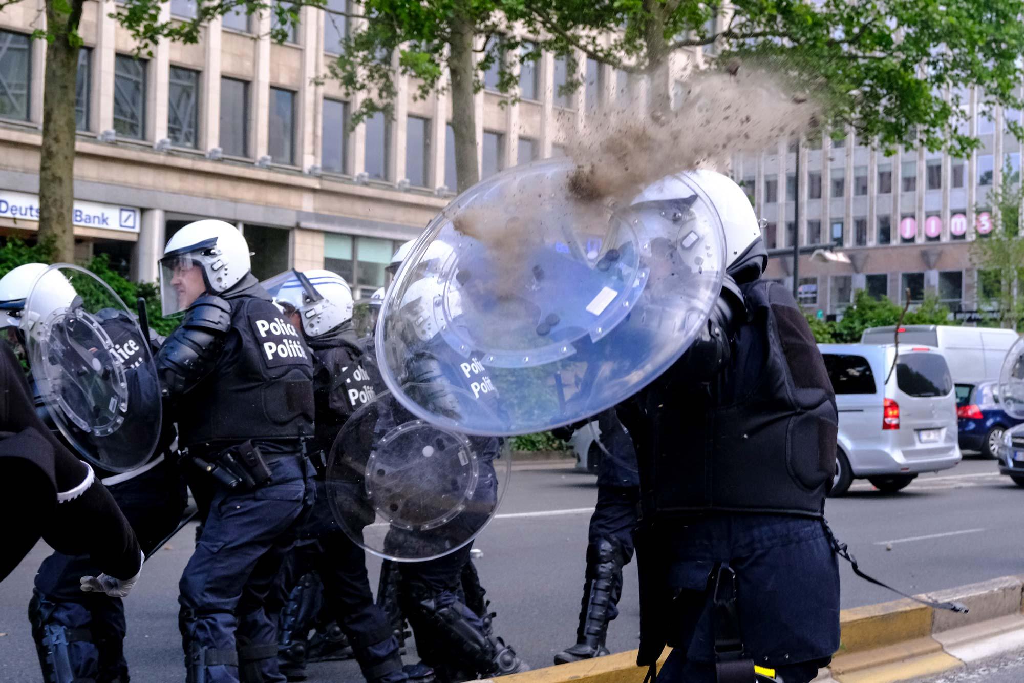 Pour protéger nos policiers contre les violences à leur égard