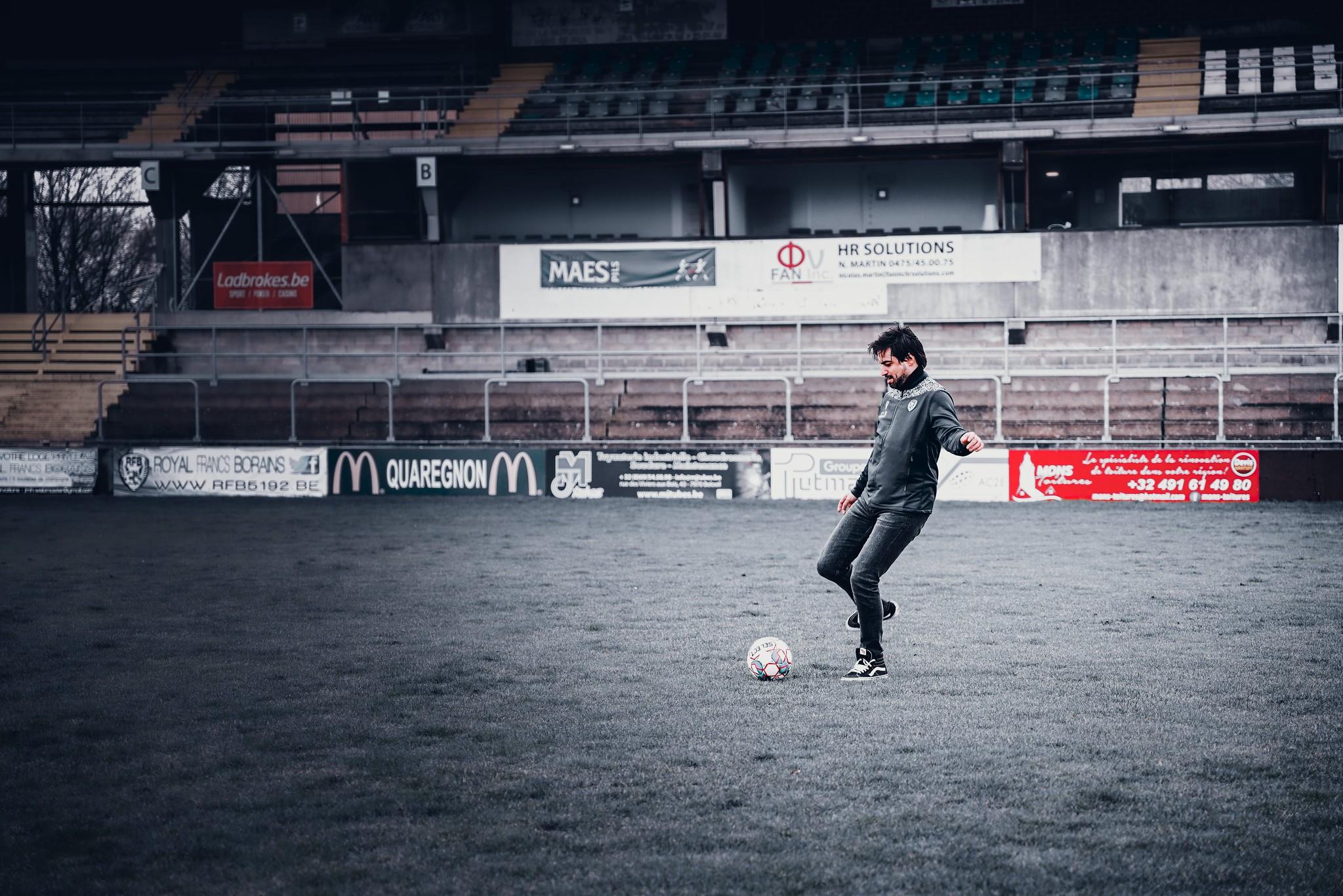 """""""J'adore le football et je veux faire progresser ma région"""""""
