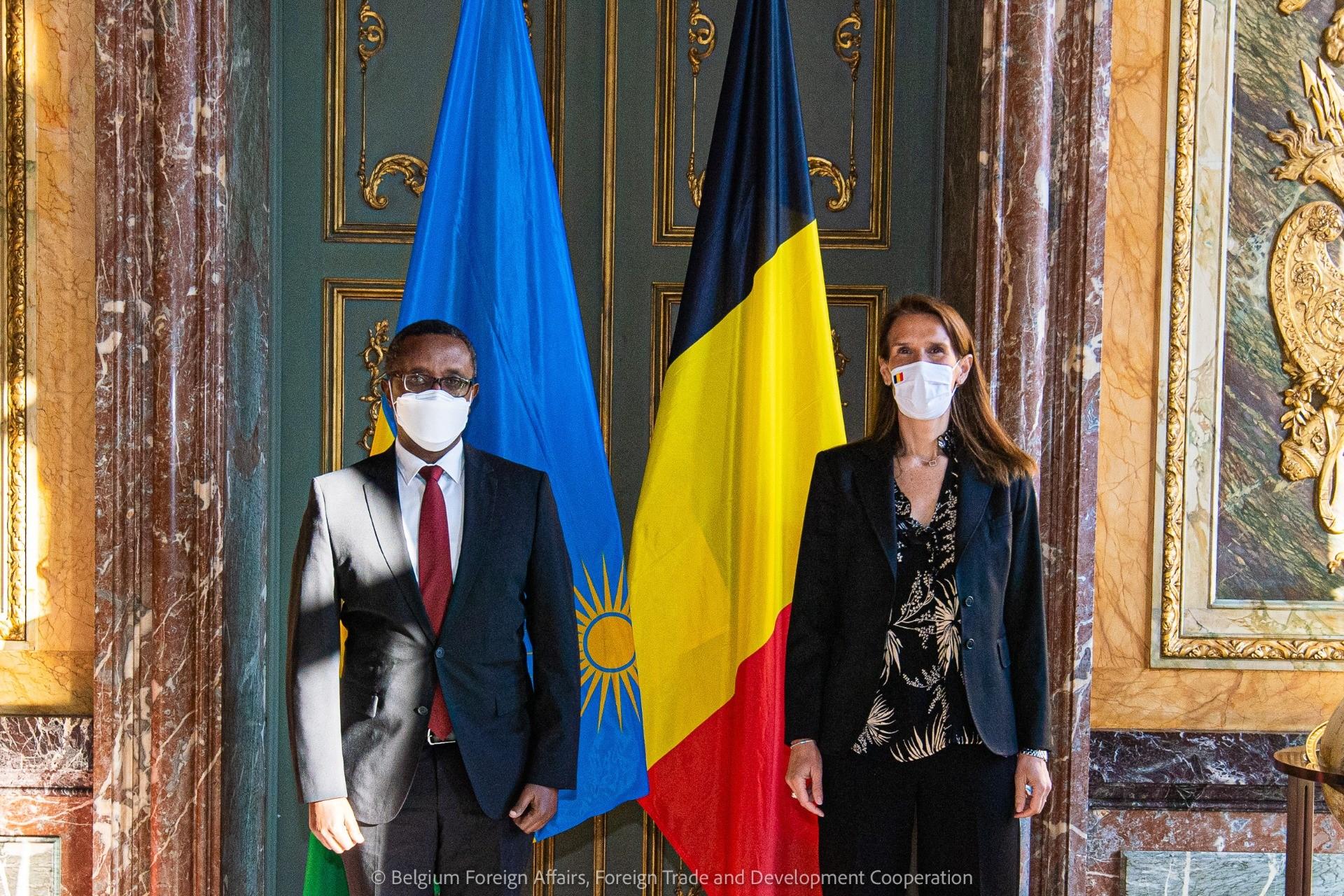 Rencontre avec le Ministre rwandais des Affaires étrangères,  S.E. Vincent Biruta