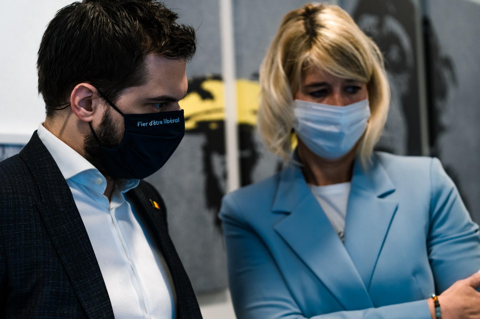 Le président du MR a pris connaissance de la technologie de purification d'air Sanuvox