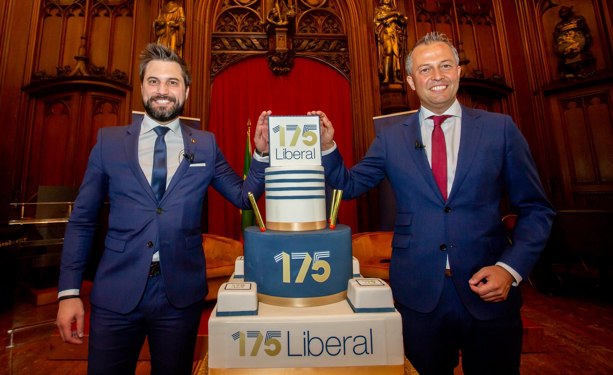 175 ans du parti libéral – Discours du président du MR Georges-Louis Bouchez