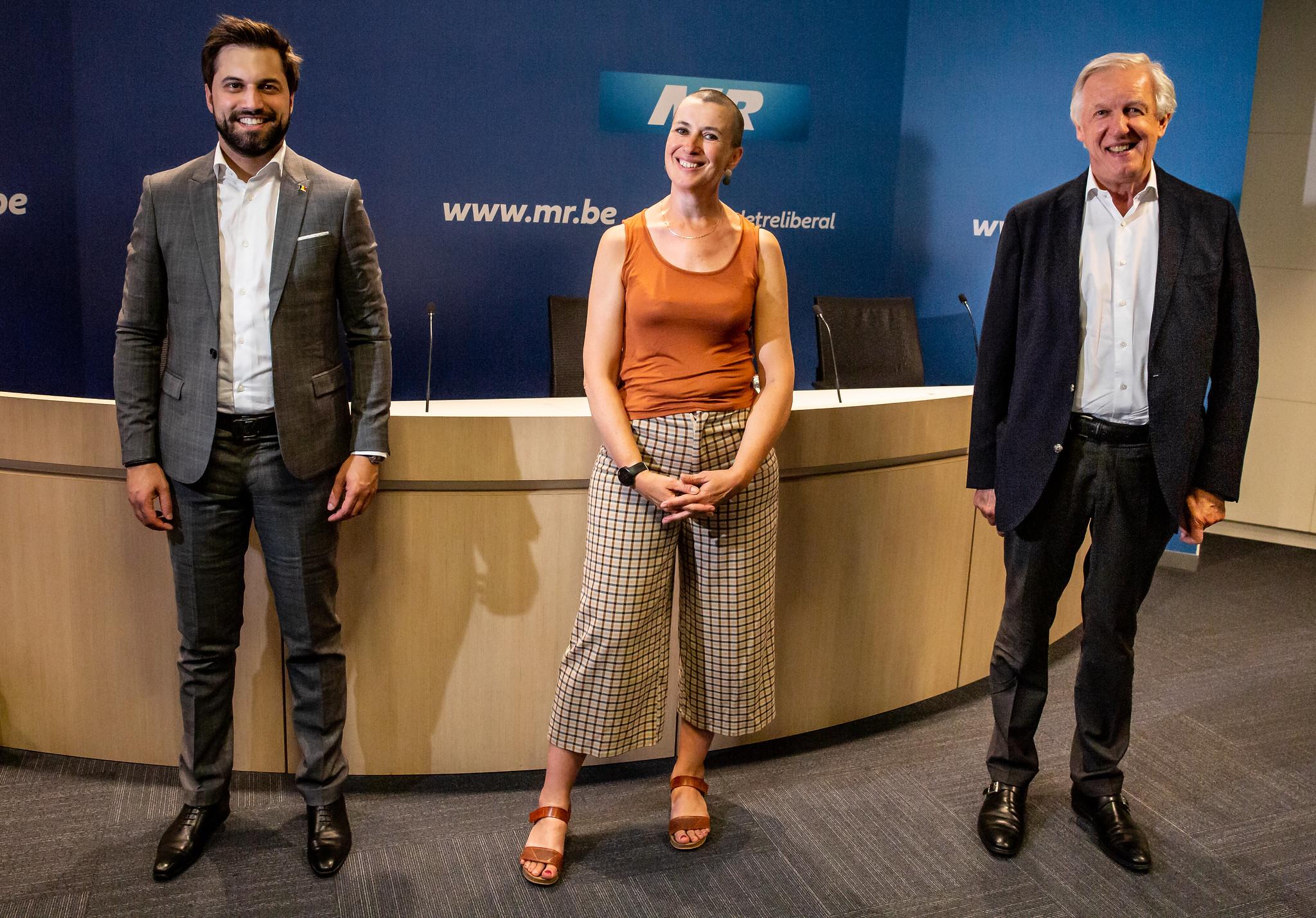 Nadia Geerts rejoint le Centre Jean Gol pour poursuivre son combat pour la neutralité de l'Etat