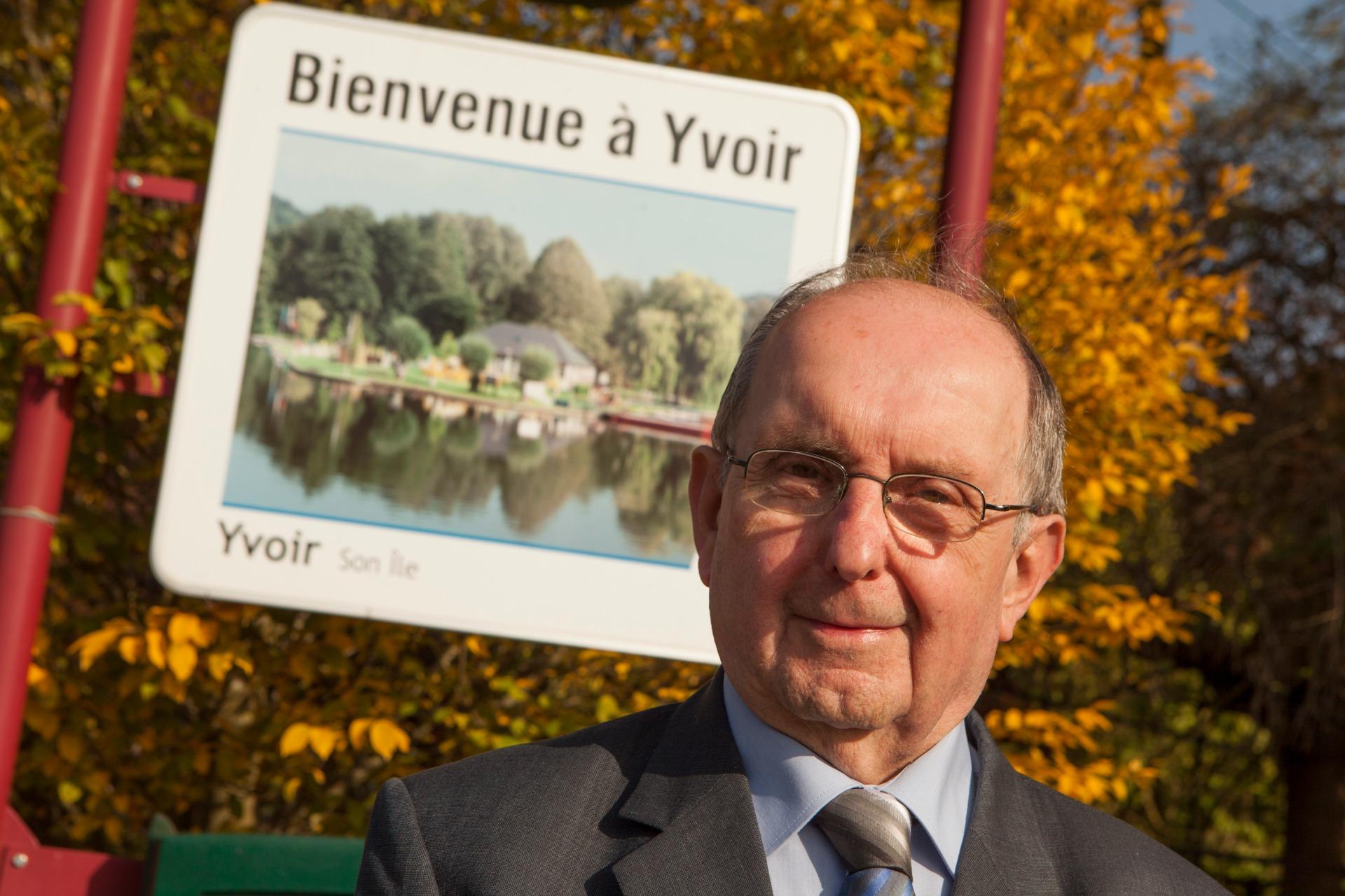 Ovide Monin, l'ancien bourgmestre d'Yvoir, s'en est allé