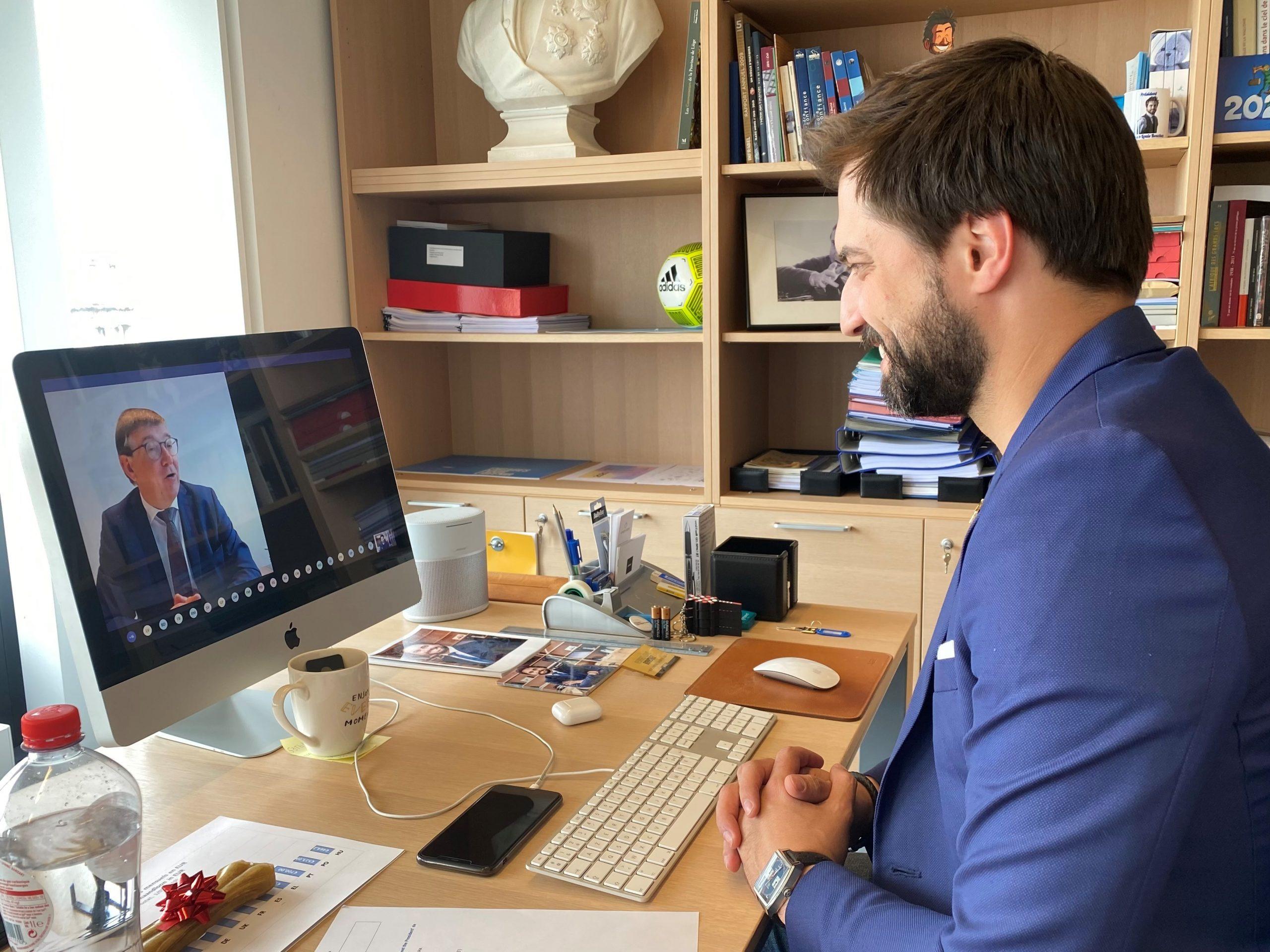 Le président du MR s'entretient avec des chefs d'entreprise flamands de Voka