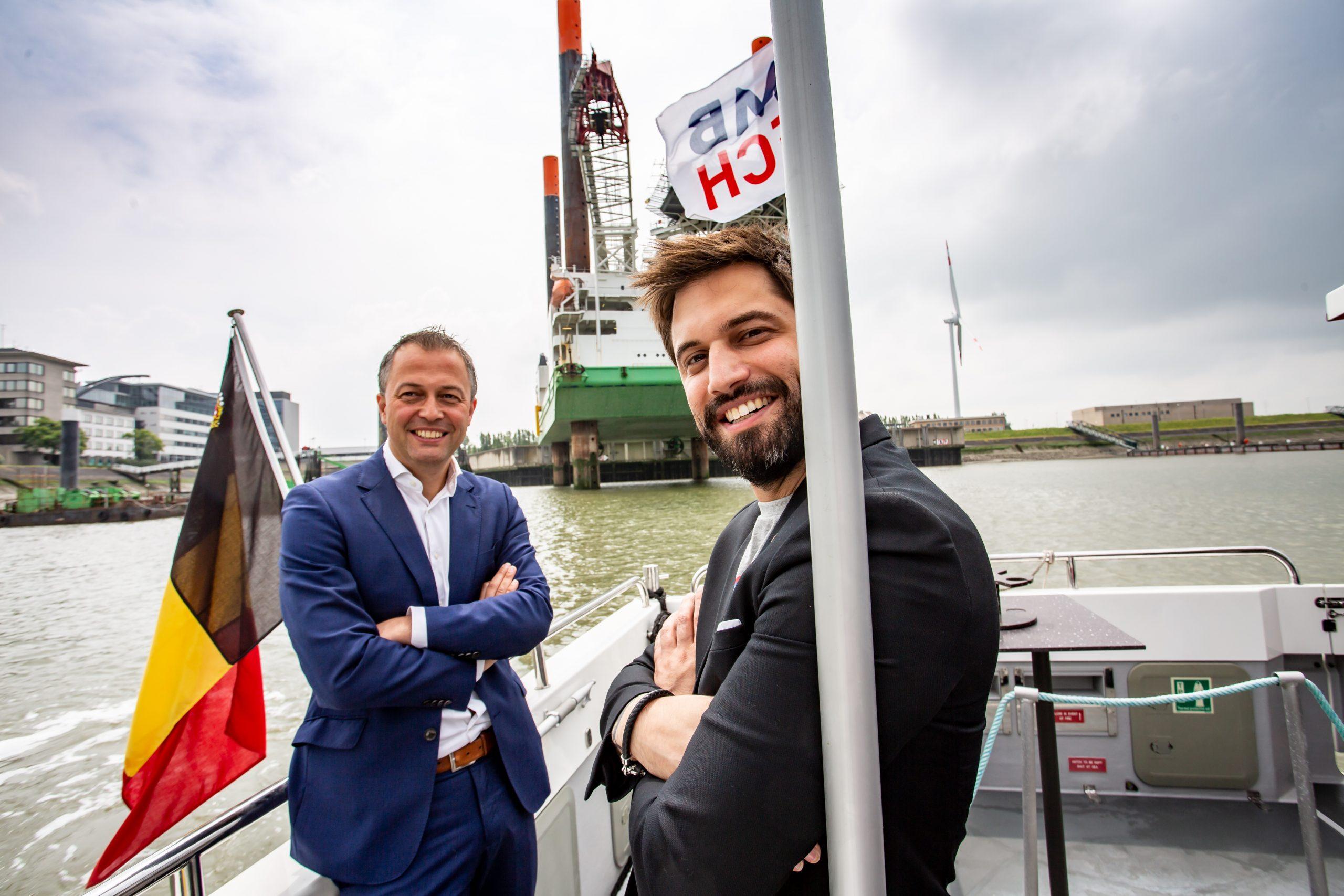 Tournée Libérale de Belgique : les présidents du MR et de l'Open VLD en visite à Anvers
