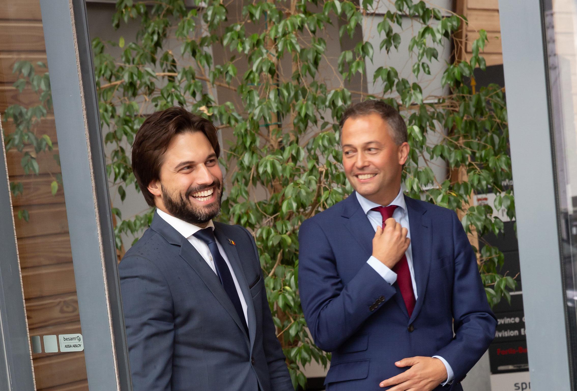 Tournée libérale de Belgique : les présidents du MR et de l'Open VLD en visite à la province de Luxembourg